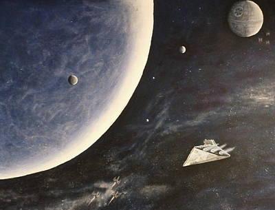 Star Wars Mural Poster