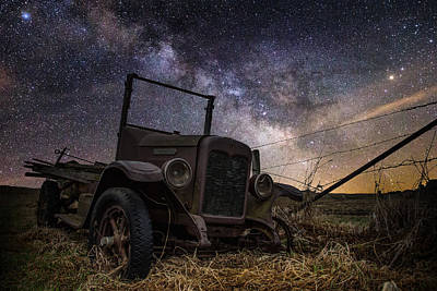 Stardust And  Rust Poster by Aaron J Groen