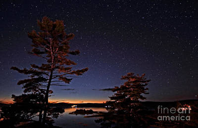 Starry Night In Northern Ontario Poster