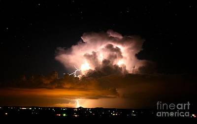 Starry Thundercloud Poster
