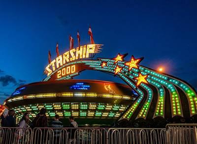 Starship 2000 Poster by Steve Harrington