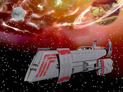 Starship Wonder Poster