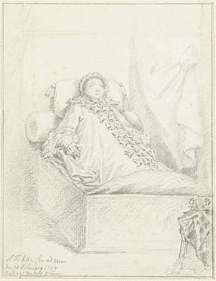 State Bed Princess Governess, Anna Of Hanover Poster by Quint Lox