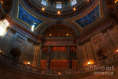 State Capitol Of Minnesota Poster