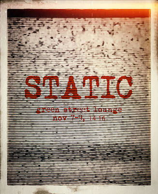 Static Poster by H James Hoff