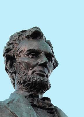 Statue Of Abraham Lincoln Poster by Victor Habbick Visions