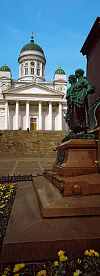 Statue Of Alexander II In Front Poster by Panoramic Images