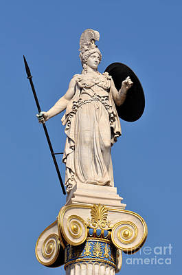 Statue Of Athena Poster