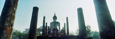 Statue Of Buddha At A Temple, Sukhothai Poster by Panoramic Images