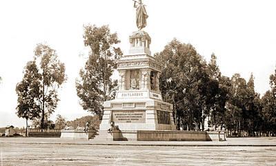 Statue Of Cuitlahuac I.e Poster