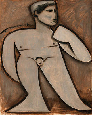 Statue Of David Art Print Poster