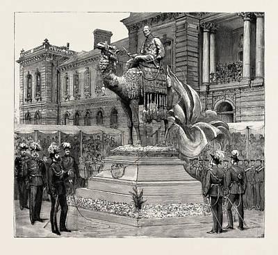 Statue Of General Gordon, Brompton Barracks Poster by English School