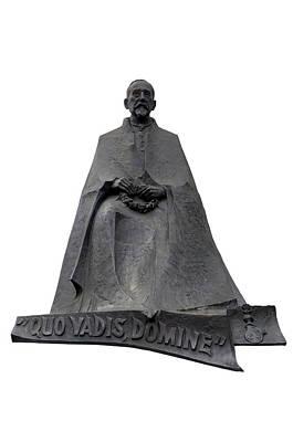 Statue Of Henryk Sienkiewicz  Poster by Fabrizio Troiani