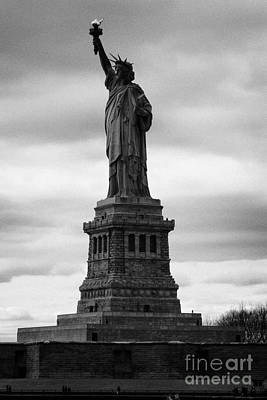 Statue Of Liberty National Monument Liberty Island New York City Poster by Joe Fox