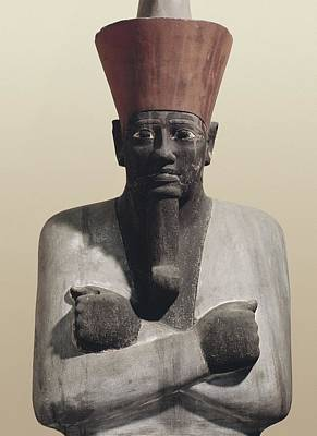 Statue Of Mentuhotep II. 2040 Bc Poster by Everett