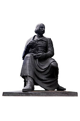 Statue Of Nikolai Gogol  Poster by Fabrizio Troiani