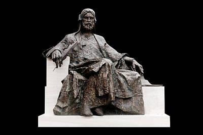 Statue Of Nizami Ganjavi  Poster by Fabrizio Troiani