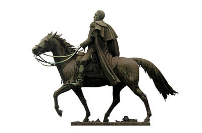 Statue Of Simon Bolivar Poster