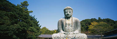 Statue Of The Great Buddha, Kamakura Poster by Panoramic Images