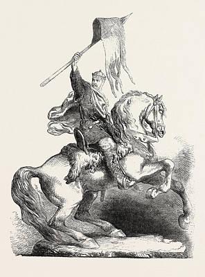 Statue Of William The Conqueror Poster by English School