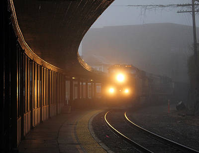 Staunton Virgina Train Poster