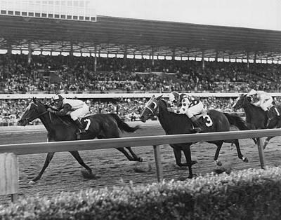 Stealaway Horse Racing Vintage Poster