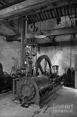 Steam Engine At Locke's Distillery Poster