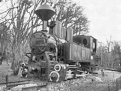 Steam Locomotive  Poster by Odon Czintos