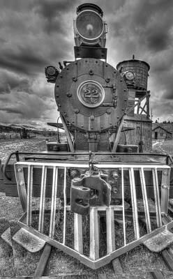 Steam Locomotive Train Poster