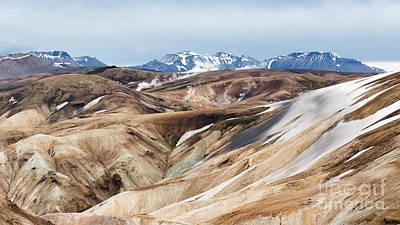 Steam Vents - Landmannalaugar Trail - Laugavegurinn - Iceland Poster by Steve Lagreca