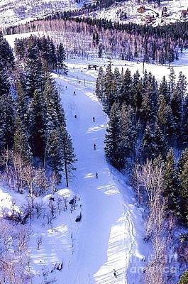 Steamboat Springs Colorado Ski Trail. Poster