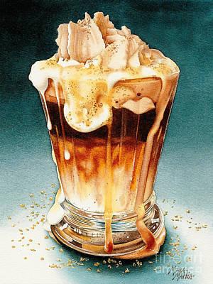 Steamed Pumpkin Hazelnut Smash Poster by Mara  Mattia