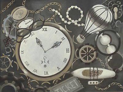 Steampunk Adventure Poster