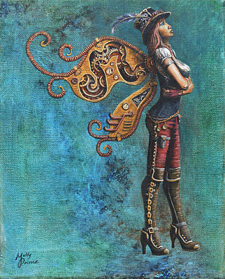 Steampunk Fairy Poster