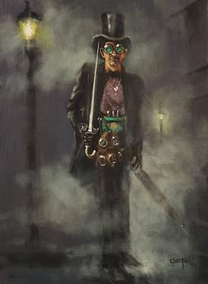 Steampunk Jack Poster