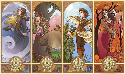 Steampunk Seasons Poster