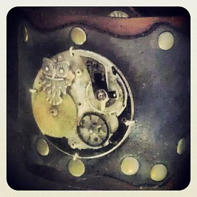 #steampunk #steampunkcuff Poster by Claudia Garcia Trejo