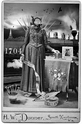 Steampunk Stitches Poster by Robert Hudnall