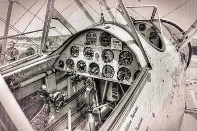 Stearman N4760v Cockpit Poster