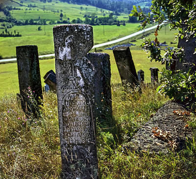 Stecci. Medieval Tombstones. Serbia Poster
