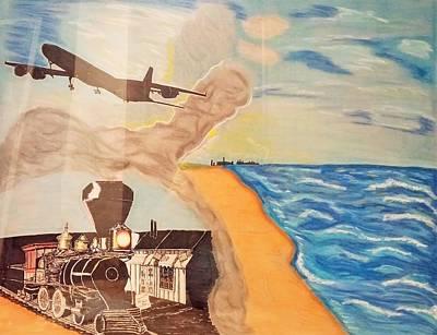 Steel Of The Dunes Poster by Robert Pikula