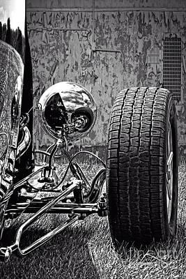 Steel On Wheels Poster by Adam Olsen