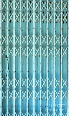 Steel Shutters Poster by Antony McAulay