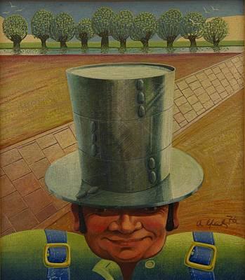 Steely Dan The Straightway Man Poster by Arthur Glendinning