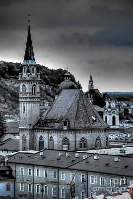 Steeples Over Innsbruck Poster