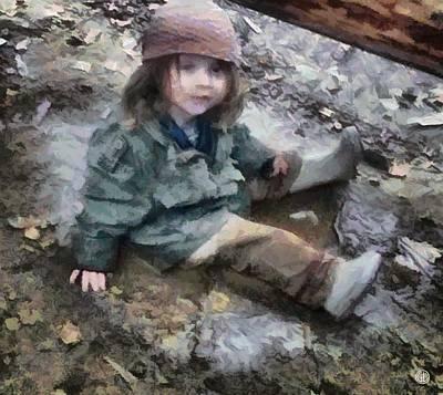 Stella In The Mud Poster by Gun Legler