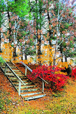 Step Into Autumn Poster