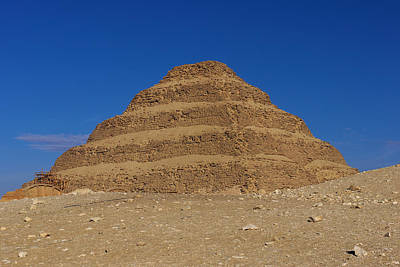 Step Pyramid Of King Djoser At Saqqara  Poster