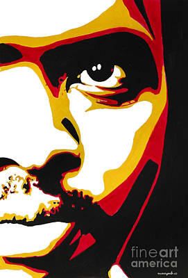 Stephen Bantu Biko Poster by Nancy Mergybrower