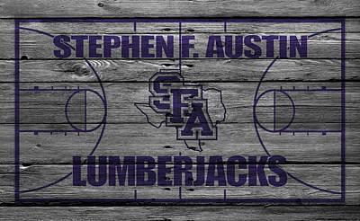 Stephen F Austin Lumberjacks Poster